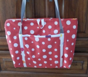 sac pois rouge